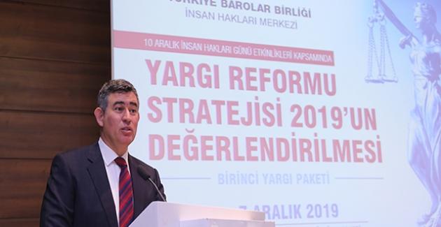 """Feyzioğlu: """"Yeni Bir Hâkimler Ve Ayrıca Savcılar Yüksek Kurulu'na İhtiyaç Var"""""""