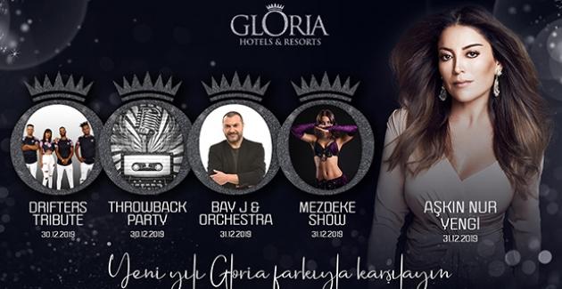 Gloria Hotels & Resorts Yeni Yılı Aşkın Nur Yengi İle Karşılıyor