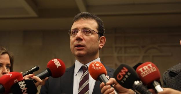 """İmamoğlu'ndan, Bakan Çavuşoğlu'nun """"Kanal İstanbul"""" Yorumuna Yanıt: """"Bakanı Nereye Uçurur Bilemem"""""""