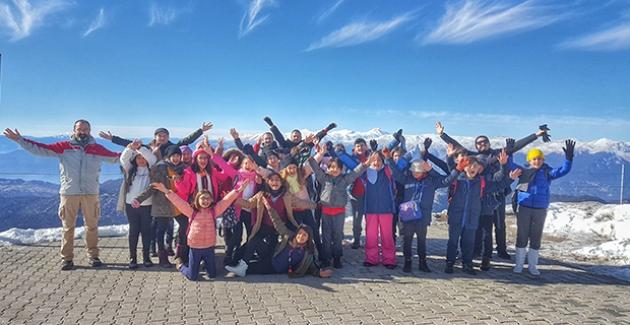 Konyaaltı Güneş Koleji Öğrencileri Tahtalı Dağı'nın Ekolojisini Yerinde Keşfettiler