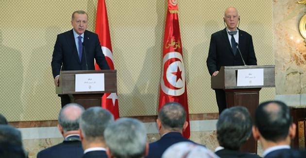 """""""Libya'da İstikrarın Sağlanması Yönündeki Çabalara Tunus'un Yapıcı Katkıları Olacağı Şüphesizdir"""""""