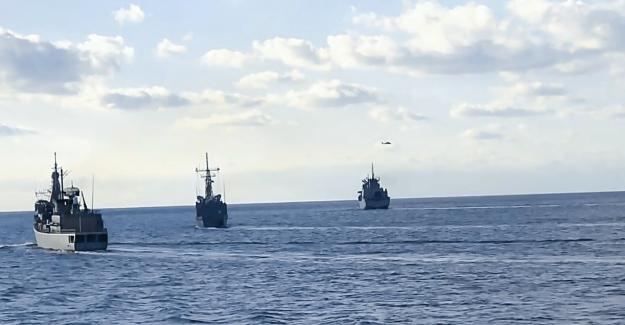 NATO Daimi Deniz Görev Grubu-2 İle Türk Deniz Kuvvetleri Unsurlarının Geçiş Eğitimleri İcra Edildi