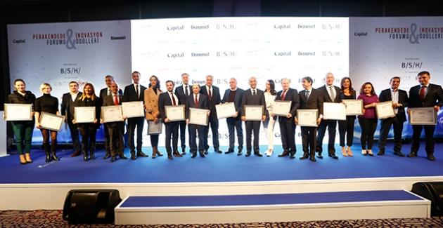 Perakendede İnovasyon Forumu'nda Perakendenin En İyileri Ödüllerine Kavuştu