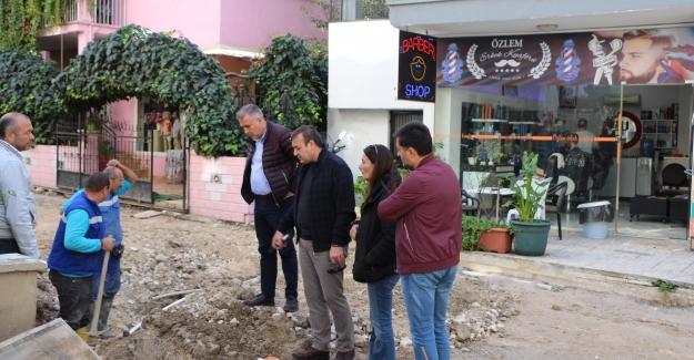 Türkmen Mahallesi'nde Çalışmalar 24 Saat Esaslı Yürütülüyor