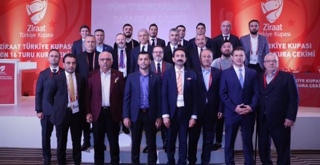 Ziraat Türkiye Kupası Son 16 Tur Kurası Çekildi