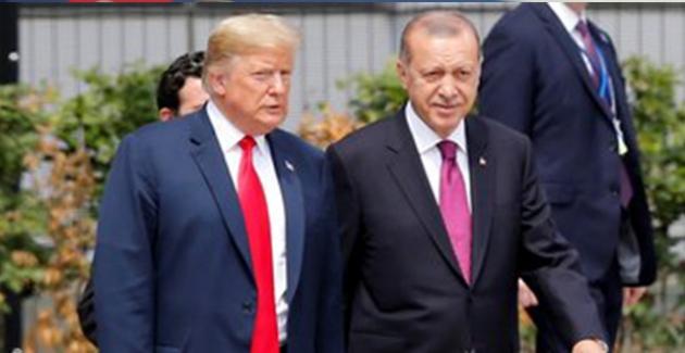 ABD Başkanı Trump'tan, Cumhurbaşkanı Erdoğan'a Elazığ Depremi İçin Taziye Telefonu