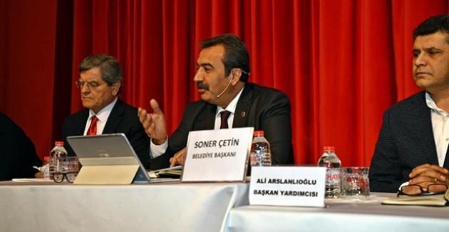 Başkan Çetin,  EVKAD Çadırındaki Esnafın İsteğini Kırmadı