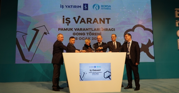 Borsa İstanbul'da Gong Pamuk Varantları İçin Çaldı