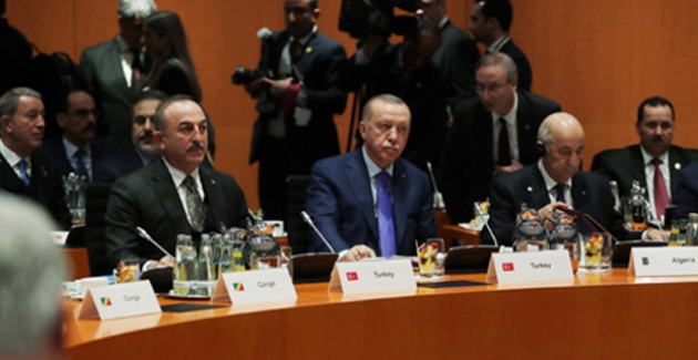 Cumhurbaşkanı Erdoğan, Berlin'de Düzenlenen Libya Konulu Zirveye Katıldı