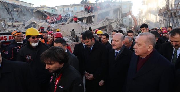 Cumhurbaşkanı Erdoğan, Elazığ'da İncelemelerde Bulundu