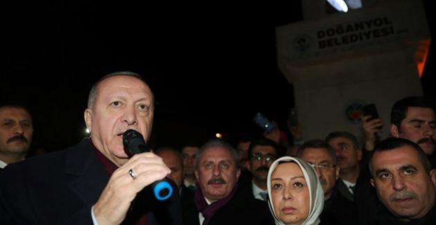 Cumhurbaşkanı Erdoğan, Malatya'nın Doğanyol İlçesinde İncelemelerde Bulundu