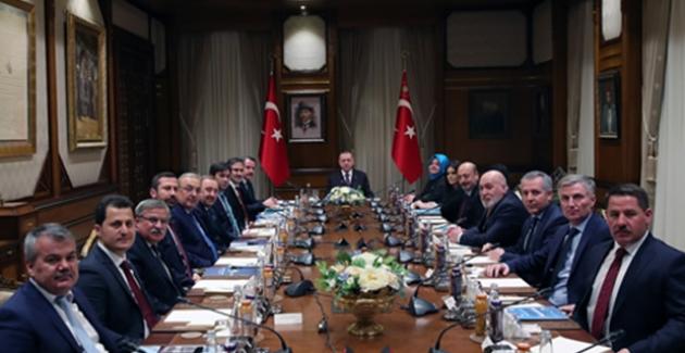 Cumhurbaşkanı Erdoğan, Memur-Sen Heyetini Kabul Etti