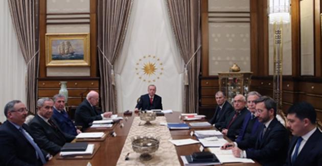 Cumhurbaşkanı Erdoğan, YSK Başkanı Güven'i Kabul Etti