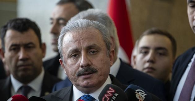 Meclis Başkanı Şentop'tan 'Dokunulmazlık' Açıklaması