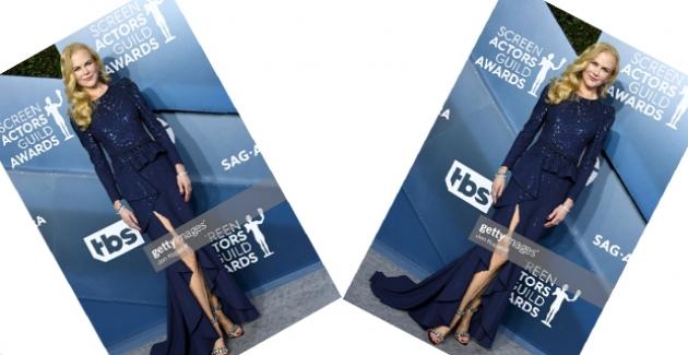 Nicole Kidman Michael Kors Collection Tasarımı Elbisesi İle Göz Kamaştırdı