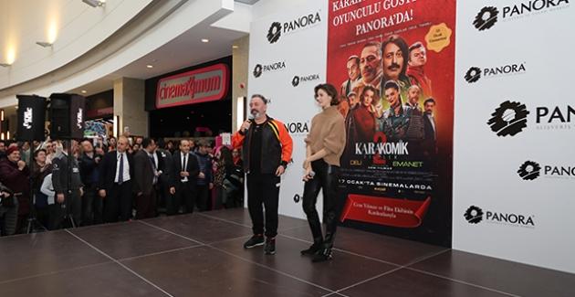 """Panora, """"Karakomik Filmler 2""""Yle  Cem Yılmaz Ve Büşra Develi'yi Ağırladı!"""