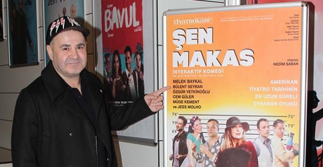Şafak Sezer 20 Yıl Önce Oynadığı 'Şen Makas'ı İzledi