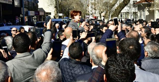 """Akşener, """"Erdoğan Türkiye Cumhuriyeti'nin Cumhurbaşkanı Olmayı Başarabilse Çok İyi Olacak"""""""