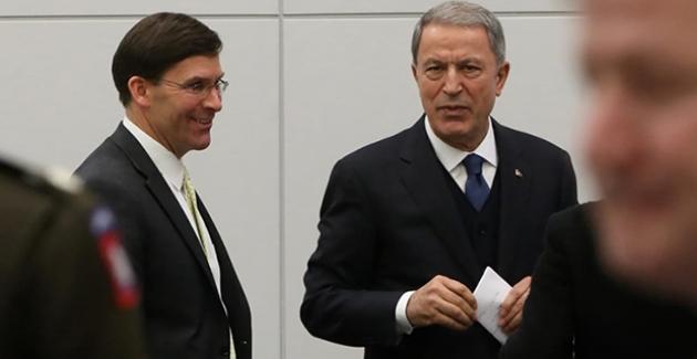 Bakan Akar, ABD Savunma Bakanı Esper İle Görüştü