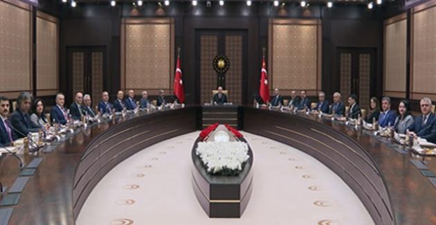 Cumhurbaşkanı Erdoğan, Yargıda Birlik Platformu Heyetini Kabul Etti