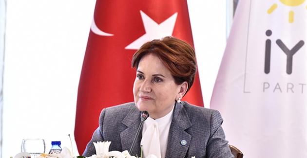 """Akşener, """"Sayın Erdoğan'a Bir Önerim Var Maaş Yetmez. 500 Milyon Dolarlık Katar Uçağını Bağışlasın"""""""