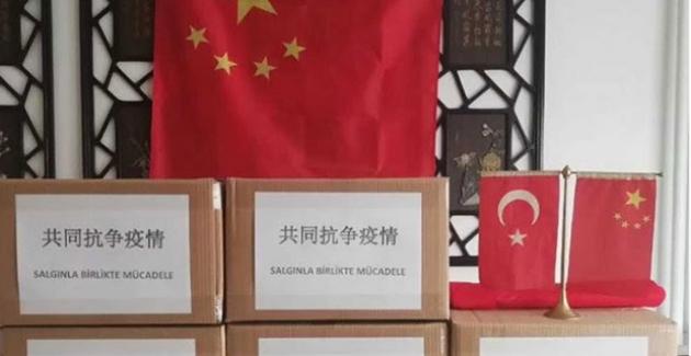 Çin, Maltepe Belediyesi'ne 10 Bin Maske Bağışladı