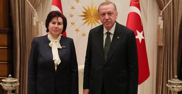 Cumhurbaşkanı Erdoğan, Danıştay Başkanı Güngör'ü Kabul Etti