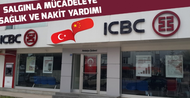 ICBC'den Türkiye'ye 100 Bin Dolarlık Destek