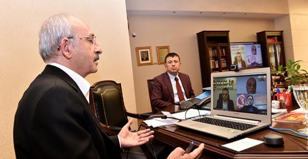 """Kılıçdaroğlu: """"Bu Konuda Birliktelik Sağlamanız, Türkiye İçin De Demokrasi İçin De Çok Değerli"""""""