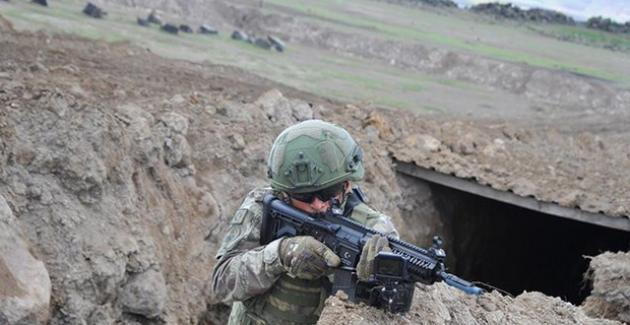 MSB: Barış Pınarı Bölgesine Sızma Girişiminde Bulunan 4 Terörist Etkisiz Hale Getirildi