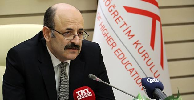 YÖK Başkanı Saraç'tan Öğretmen Adayları İçin 'Eğitim Telafisi'  Açıklaması