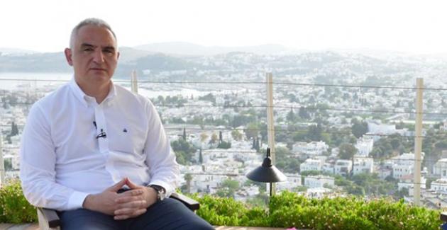 """Bakan Ersoy: """"Bir Terslik Olmazsa, 28 Mayıs Gibi İç Turizm Hareketiyle İnşallah Turizm Başlar"""""""