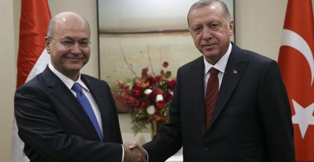 Cumhurbaşkanı Erdoğan, Irak Cumhurbaşkanı Salih İle Telefonda Görüştü