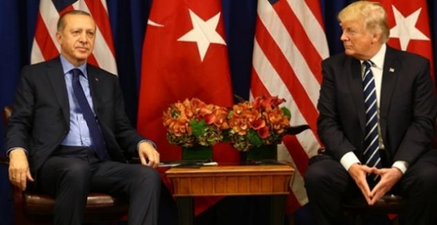 Cumhurbaşkanı Erdoğan,ABD Başkanı Trump İle Görüştü