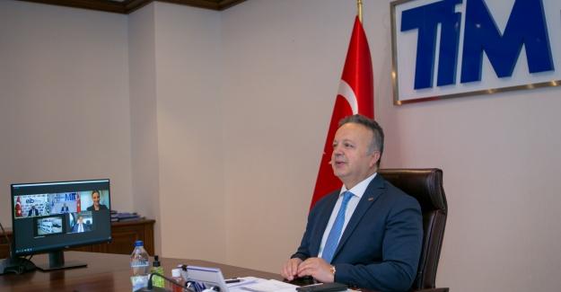 """TİM Başkanı Gülle: """"Uluslararası Ticareti Yeni Bir Modele Taşıyoruz"""""""