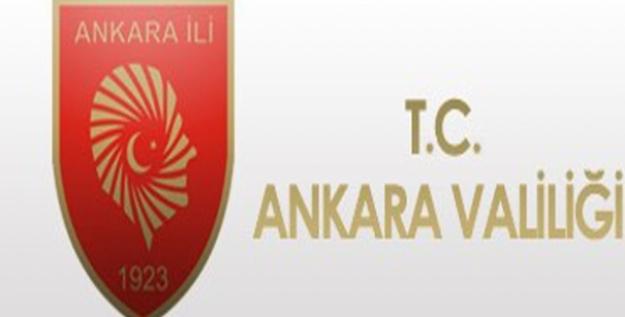 Ankara'da Her Türlü Toplantı, Gösteri Yürüyüşü Vb. Faaliyetler 15 Gün Süreyle Kısıtlandı