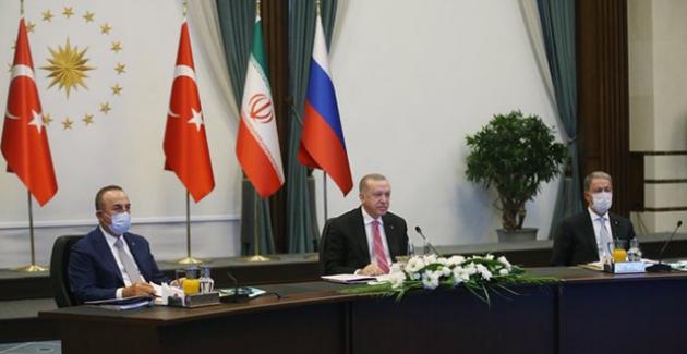 """""""Astana Garantörleri Olarak Sergileyeceğimiz İş Birliği Suriye'nin Geleceğinde Belirleyici Olacaktır"""""""