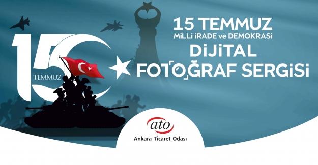 ATO'dan 15 Temmuz Dijital Fotoğraf Sergisi…
