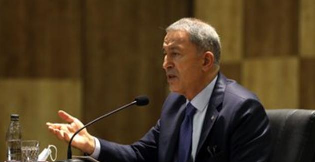 """Bakan Akar: """"Fransa, Türkiye'den Özür Dilemek Zorunda"""""""
