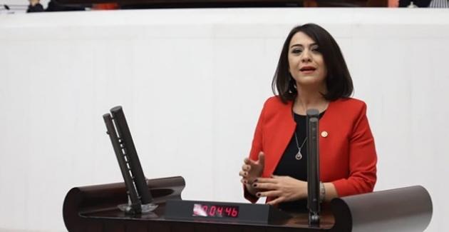 """CHP'li Taşcıer: """"Her 6 Genç Kadından Sadece Biri İstihdam Ediliyor"""""""