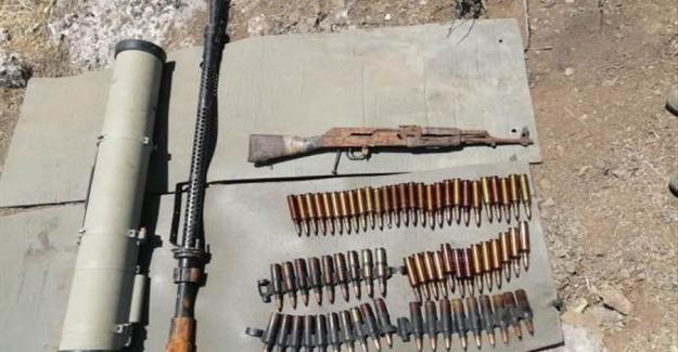 Pençe Kaplan Operasyonu'nda Silah ve Çok Sayıda Mühimmat Ele Geçirildi