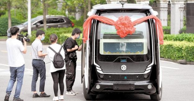Sürücüsüz Araçlar Beijing Yollarında