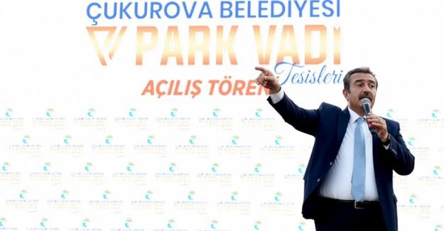 Soner Çetin: Park Vadi Adana'ya Atılan Bir İmzadır