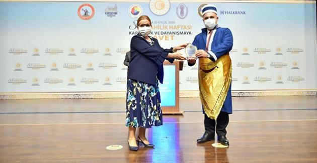 Ahilik Hizmet Ödülü Bu Yıl Halkbank Genel Müdürü Arslan'a Verildi