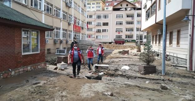 """""""Giresun'da Sel Felaketinden Etkilenen Vatandaşlar İçin 5 Milyon TL Daha Ek Kaynak Gönderildi"""""""