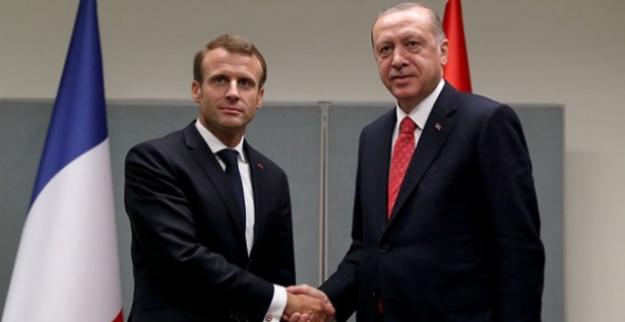 Cumhurbaşkanı Erdoğan, Fransa Cumhurbaşkanı Macron İle Telefonda Görüştü