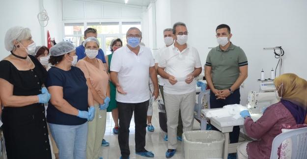 Emek Atölyesi'nde Üretilen Maske Sayısı 1 Milyonu Aştı
