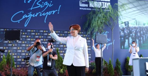 İYİ Parti Genel Başkanlığı'na Akşener Yeniden Seçildi