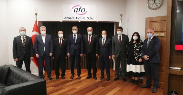 """ATO Başkanı Baran: """"Yerli Ve Milli Üretim Meslek Okullarında Eğitim Gören Gençlerimizle Artacak"""""""