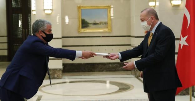Cumhurbaşkanı Erdoğan'a Kamboçya, Belçika, Panama ve Danimarka Büyükelçileri'nden Güven Mektubu